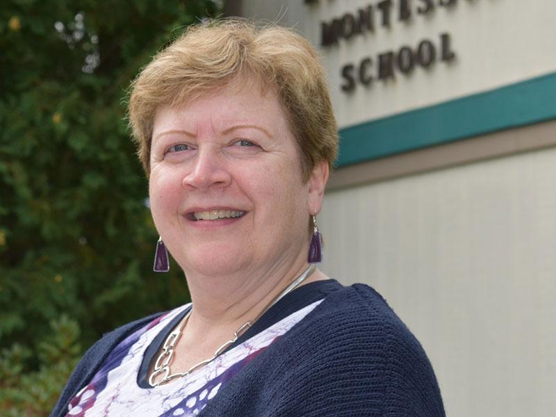 Staff at Kennebec Montessori School in Fairfield, ME