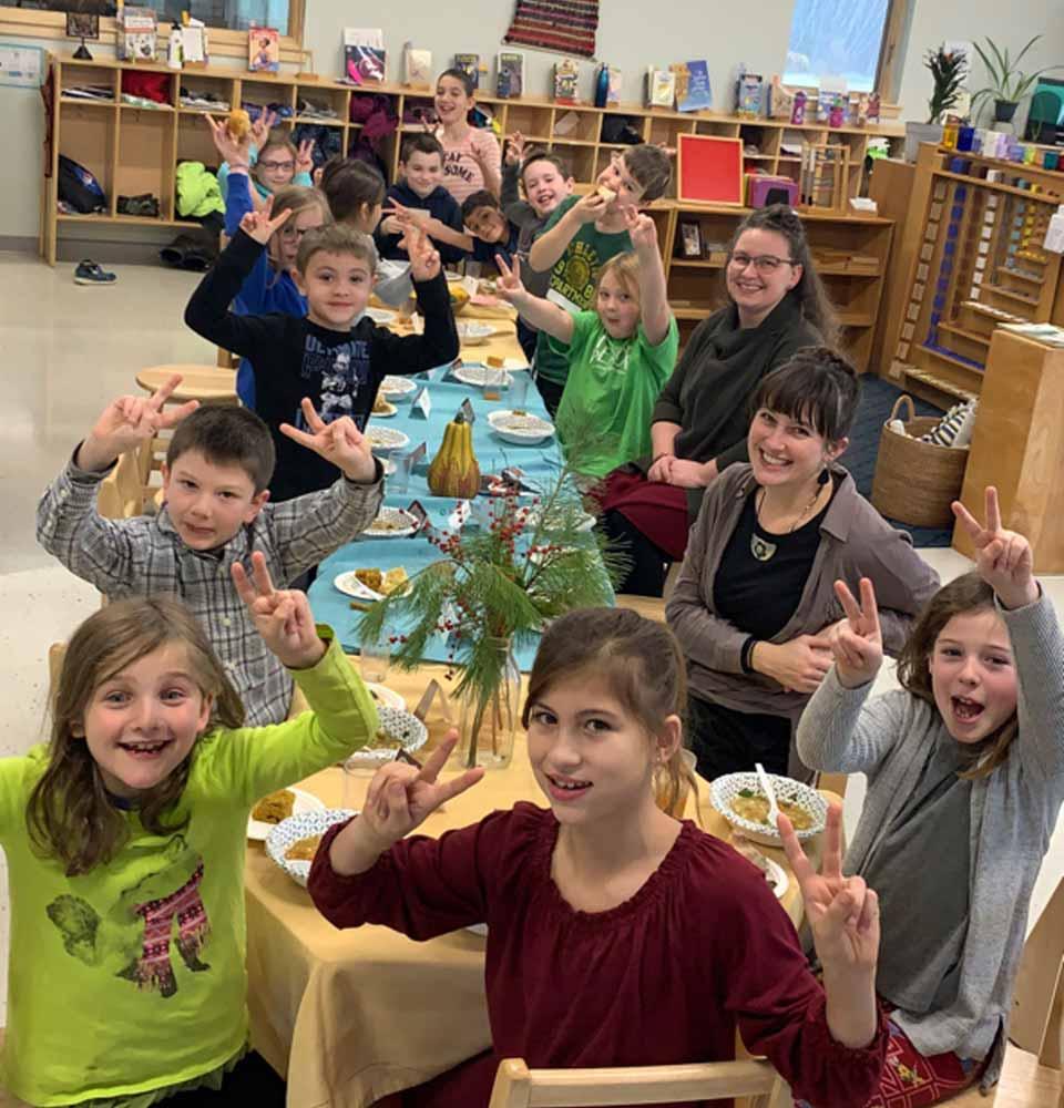 Teaching independence at Kennebec Montessori School
